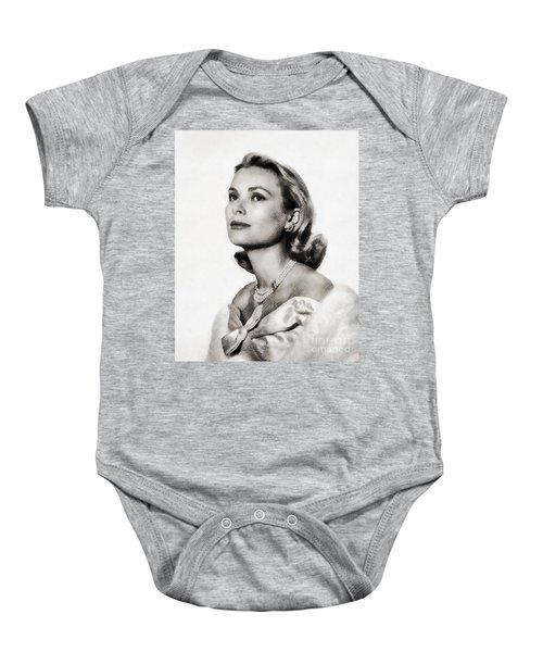 Grace Kelly, Vintage Hollywood Actress Baby Onesie