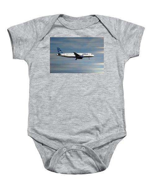 Jetblue Airways Airbus A320-232 Baby Onesie