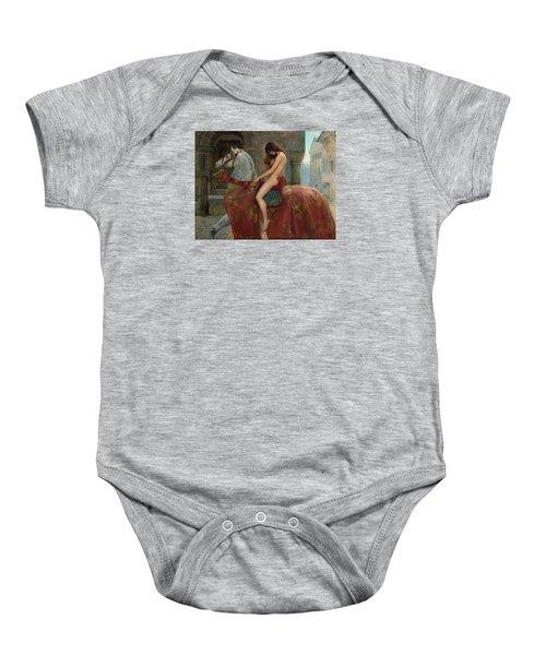 Lady Godiva Baby Onesie