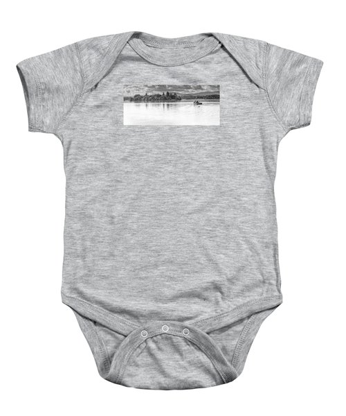 Lake Of Menteith Baby Onesie by Jeremy Lavender Photography