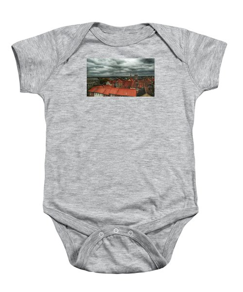 Baby Onesie featuring the photograph Norwich by Pedro Fernandez