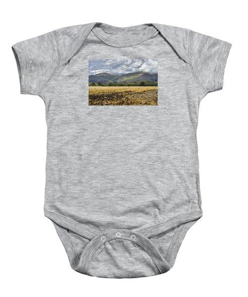 Ochil Hills Baby Onesie by Jeremy Lavender Photography