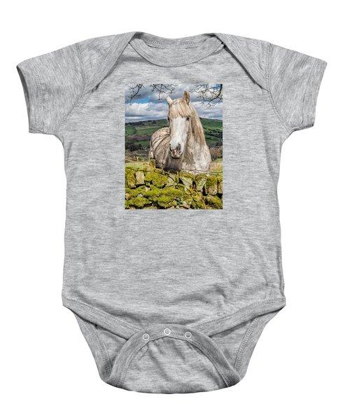 Rustic Horse Baby Onesie