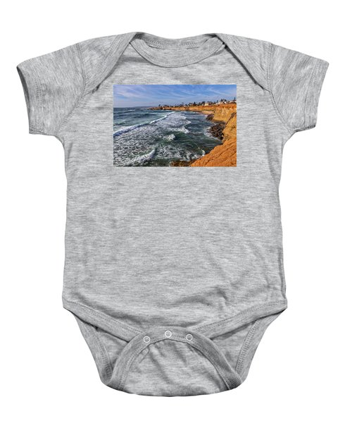Sunset Cliffs 2 Baby Onesie