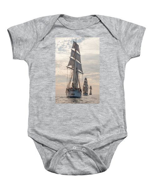 Parade Of Ships Baby Onesie