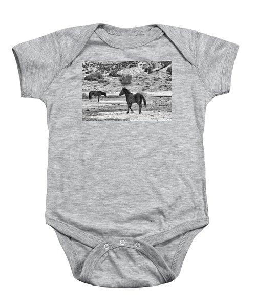 Virginia Range Mustangs Baby Onesie