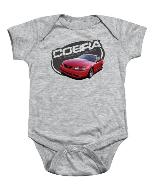 2001 Mustang Cobra Baby Onesie