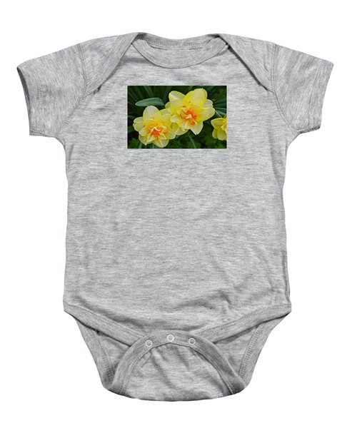 2015 Spring At The Gardens Tango Daffodil Baby Onesie
