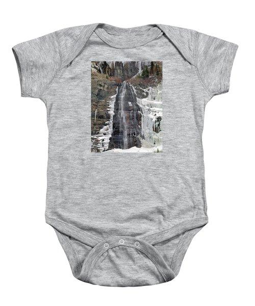 212m40 Bridal Veil Falls Utah Baby Onesie