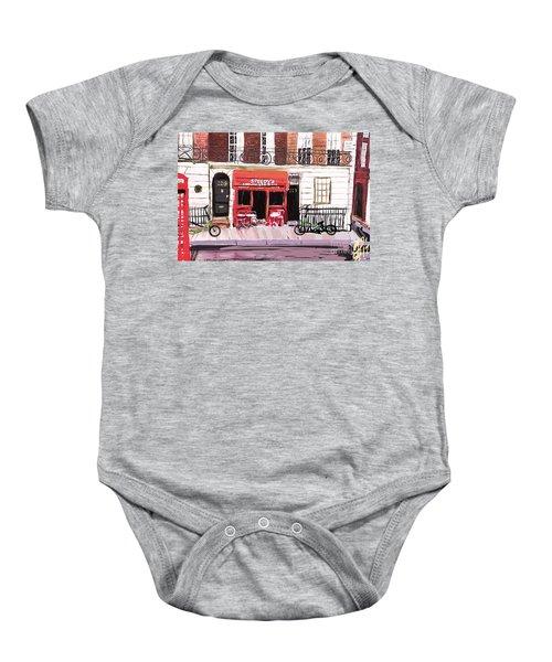 221b Baker Street 2.0 Baby Onesie