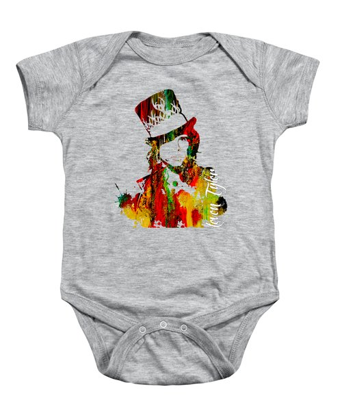 Steven Tyler Collection Baby Onesie by Marvin Blaine