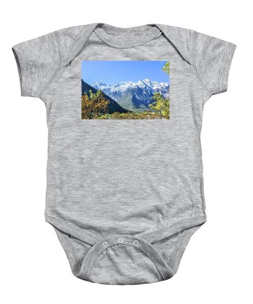 The Plateau Scenery Baby Onesie