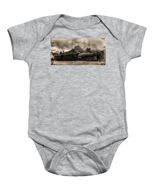 2816 Empress At Three Sisters - Canmore Baby Onesie