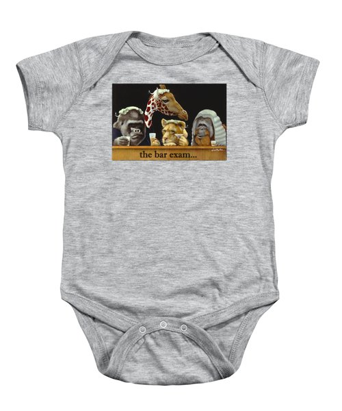 Bar Exam... Baby Onesie by Will Bullas