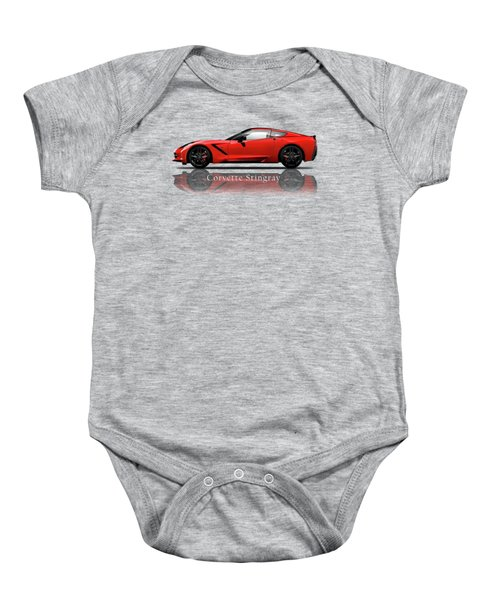 Chevrolet Corvette Stingray Baby Onesie