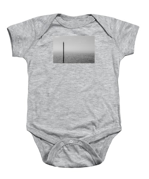 Fog On The Cape Fear River Baby Onesie
