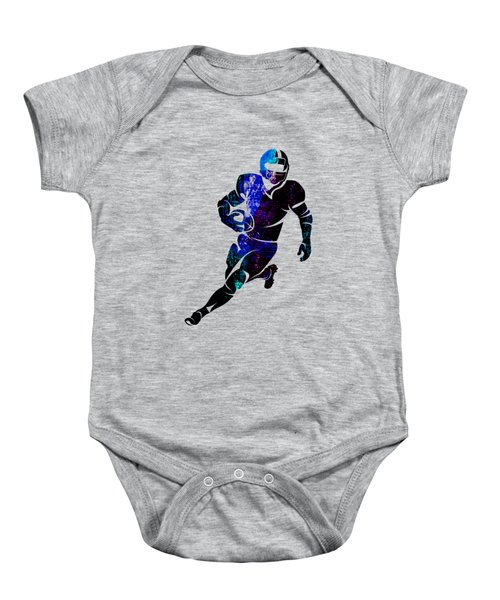 Football Collection Baby Onesie by Marvin Blaine