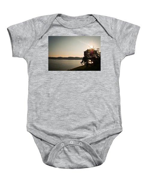 Lake Cumberland Sunset Baby Onesie