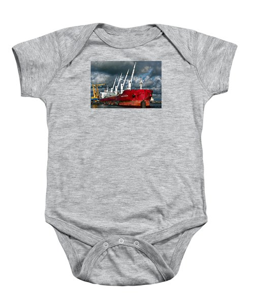 Port Of Amsterdam Baby Onesie