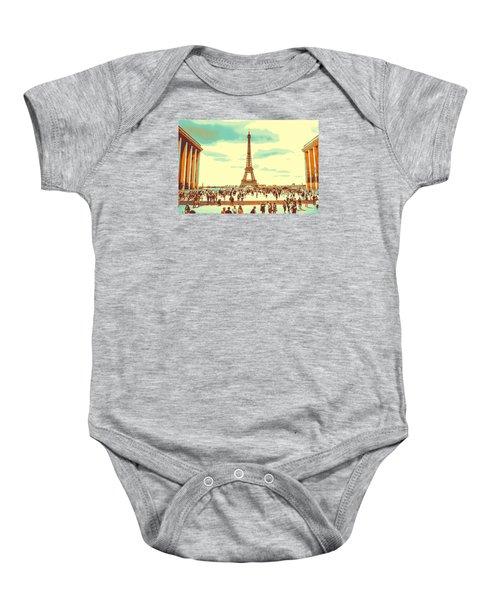 The Eiffel Tower Baby Onesie