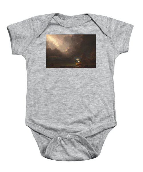 The Voyage Of Life Old Age Baby Onesie