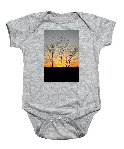 3 Trees Baby Onesie