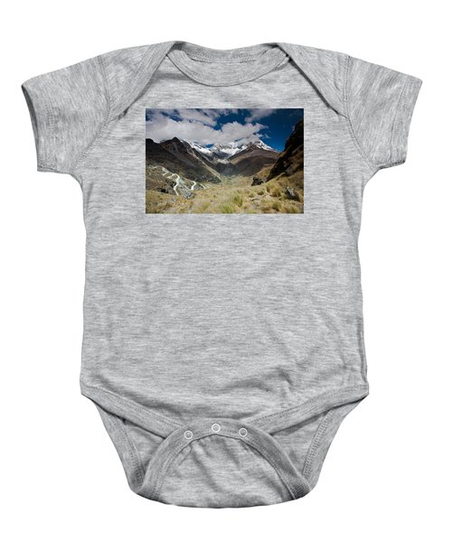 View From Portachuelo Pass Baby Onesie