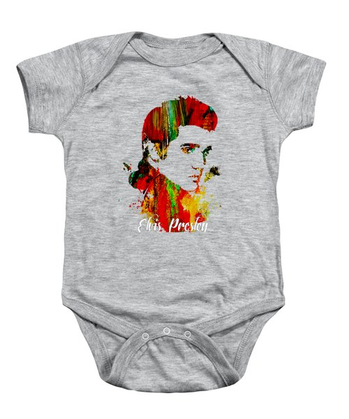 Elvis Presley Collection Baby Onesie