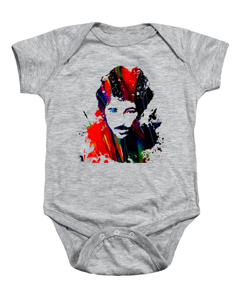Bruce Springsteen Collection Baby Onesie by Marvin Blaine