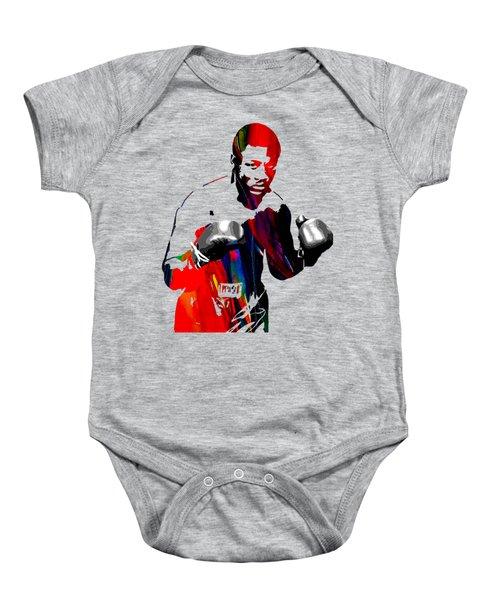 Smokin Joe Frazier Collection Baby Onesie by Marvin Blaine