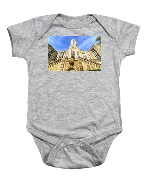 Cathedral Of Learning Baby Onesie