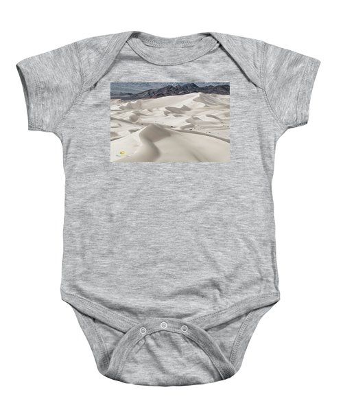 Baby Onesie featuring the photograph Dumont Dunes 5 by Jim Thompson