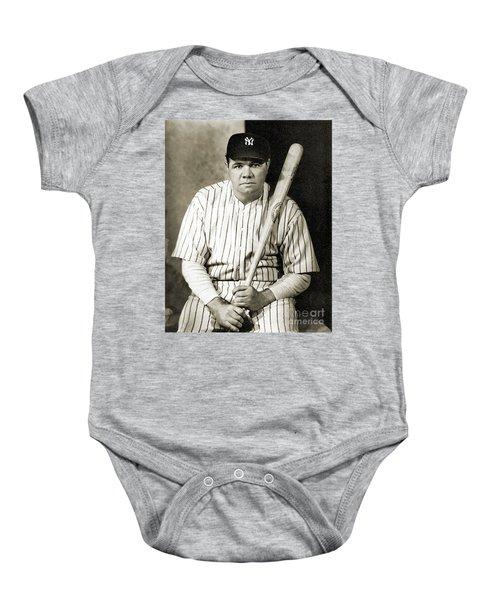 George H. Ruth (1895-1948) Baby Onesie