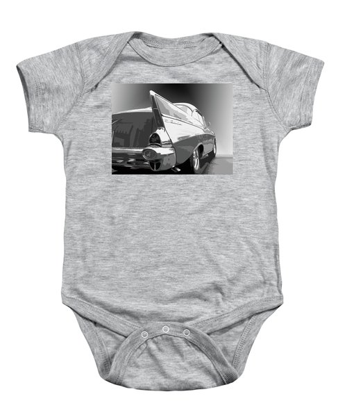 57 Chevy Horizontal Baby Onesie