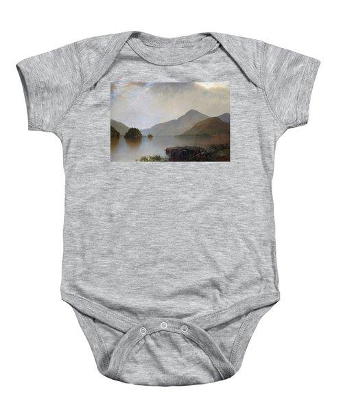 Lake George Baby Onesie