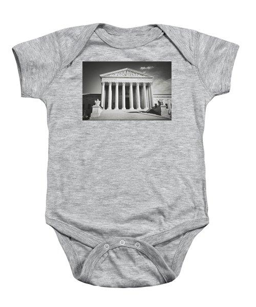 Supreme Court Building Baby Onesie