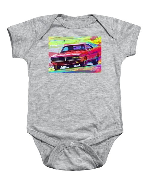 69 Dodge Charger  Baby Onesie