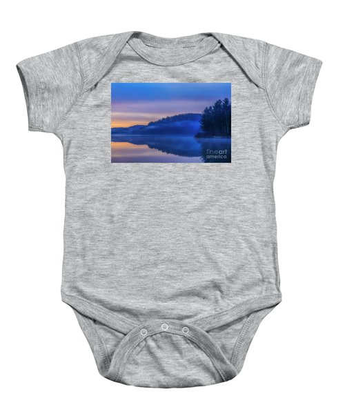 Winter Dawn Baby Onesie