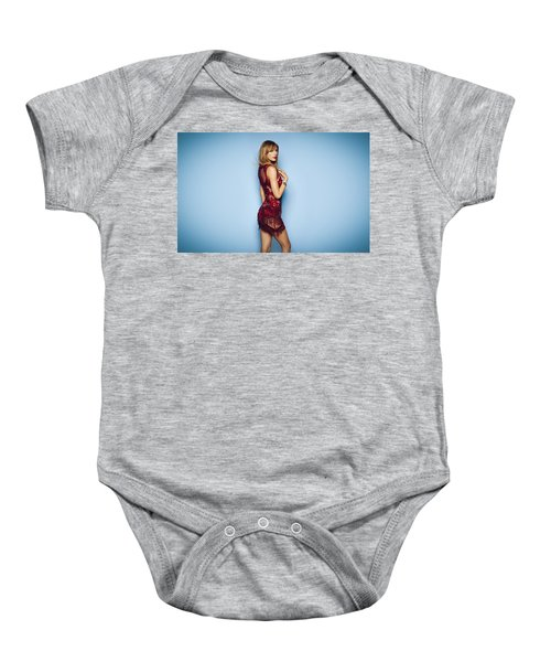 87972 Taylor Swift Women See Through Clothing Baby Onesie