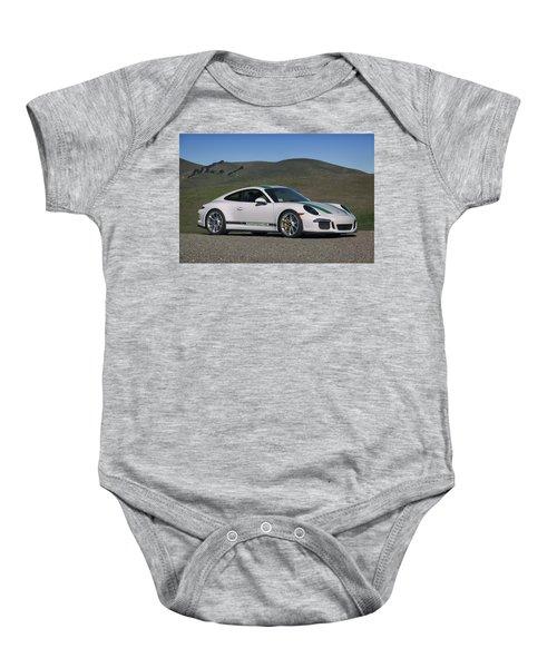 #porsche #911r #print Baby Onesie