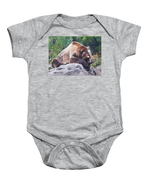 A Bear Of A Prayer Baby Onesie