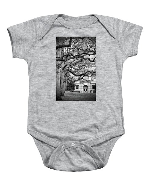 A Branch Salute Baby Onesie