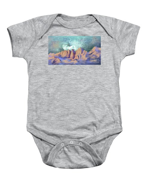 A Breath Of Tranquility Baby Onesie