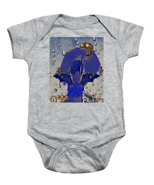 A Child's Invisibles Baby Onesie
