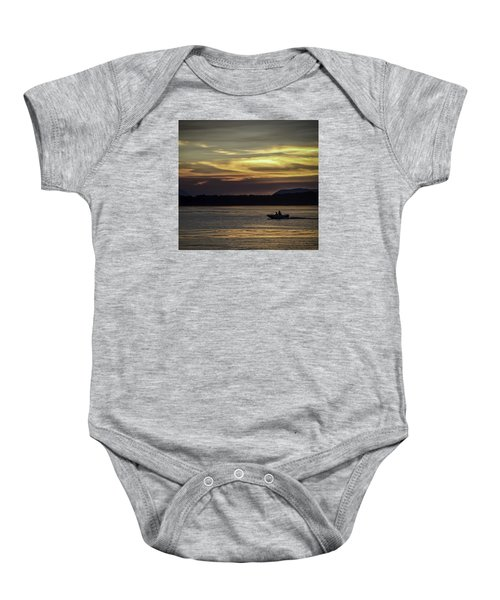A Day Of Fishing Baby Onesie