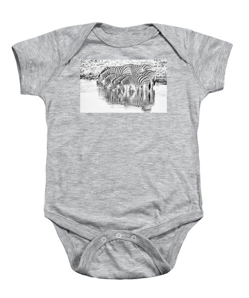 A Family That Drinks Together. Baby Onesie