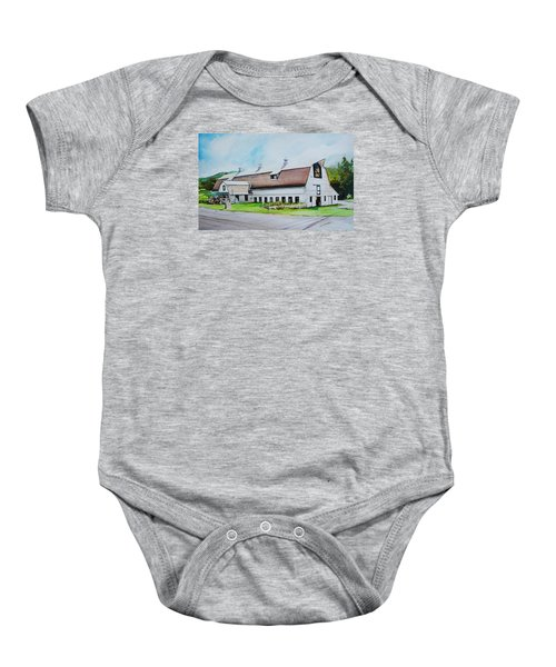 A Farmstand  In The Berkshires Baby Onesie