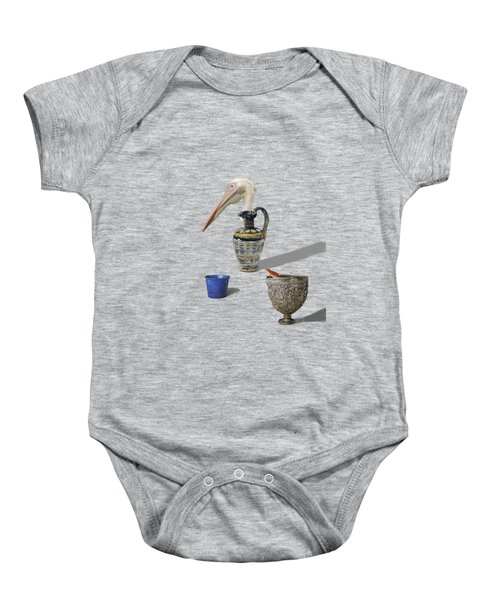 A Game Of Patience Baby Onesie by Keshava Shukla