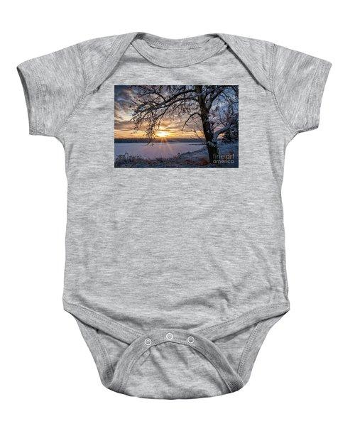 A Glenmore Sunset Baby Onesie