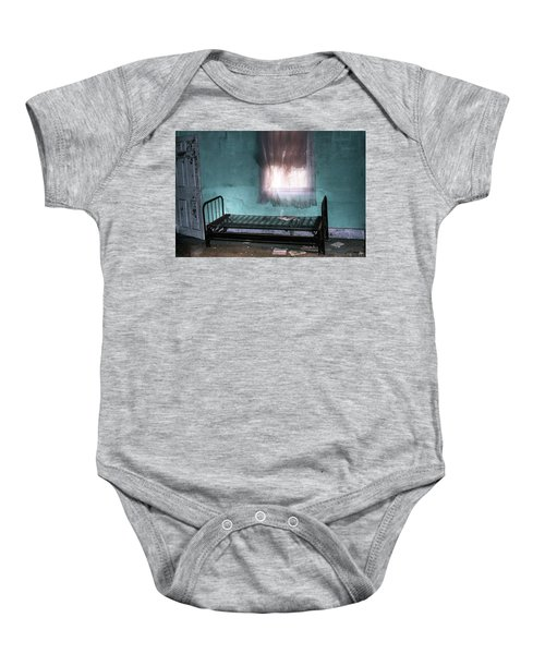 A Glow Where She Slept Baby Onesie
